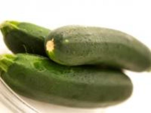 Certified Organic Zucchinis - Green