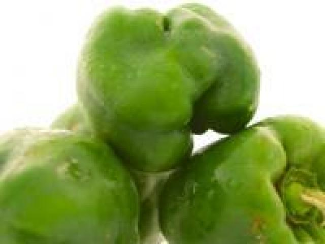 Certified Organic Capsicums - Green