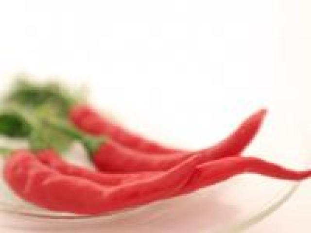 Certified Organic Chillies - Long Red