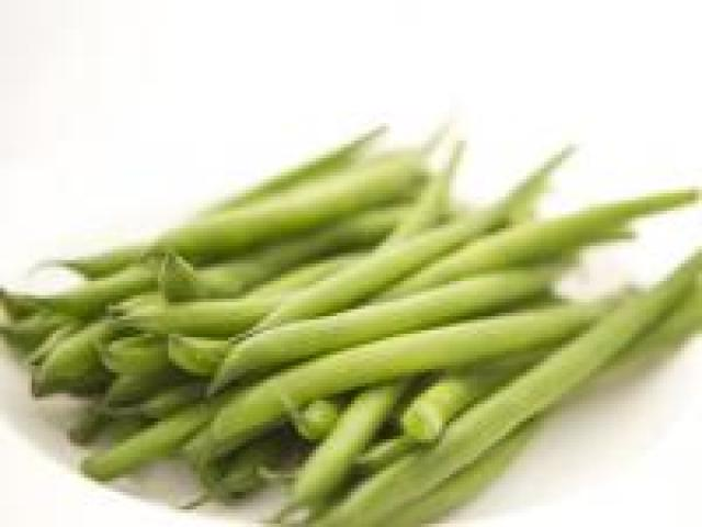 Certified Organic Beans - Round Green