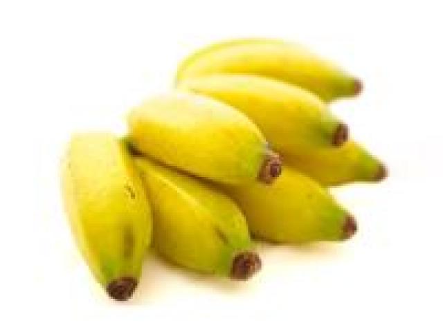 Certified Organic Bananas - Lady Finger